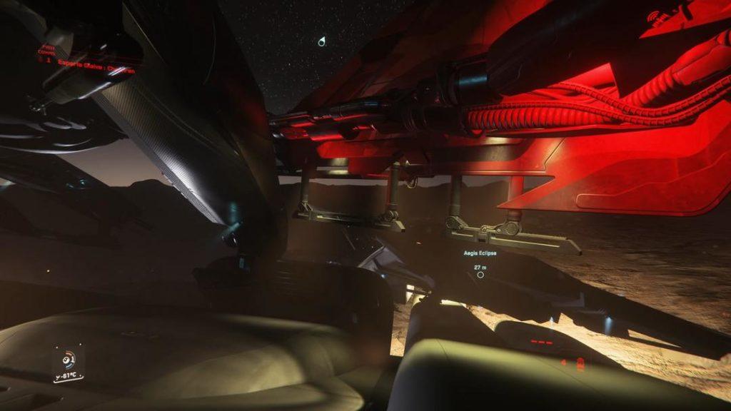 Clan PVP Star Citizen - Piste d'atterrissage sur StarFarer